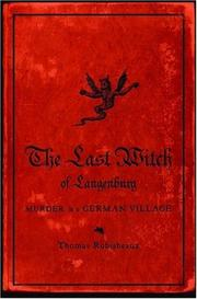 Cover art for THE LAST WITCH OF LANGENBURG
