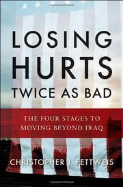 LOSING HURTS TWICE AS BAD by Christopher J. Fettweis
