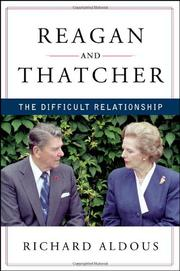 Cover art for REAGAN AND THATCHER