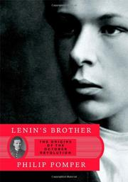 LENIN'S BROTHER by Philip Pomper