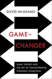 GAME-CHANGER by David McAdams