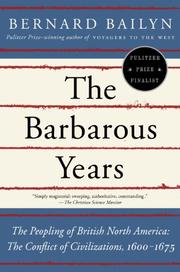 Book Cover for THE BARBAROUS YEARS
