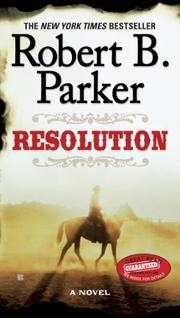 RESOLUTION by Robert B. Parker