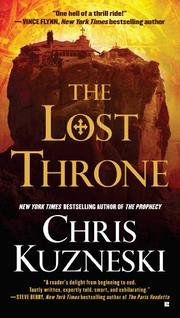 THE LOST THRONE by Chris Kuzneski