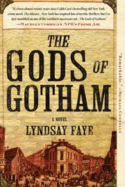 Cover art for THE GODS OF GOTHAM