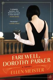 Cover art for FAREWELL, DOROTHY PARKER