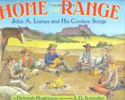 HOME ON THE RANGE by Deborah Hopkinson