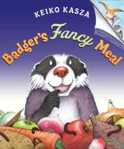 Book Cover for BADGER'S FANCY MEAL