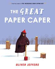 Cover art for THE GREAT PAPER CAPER