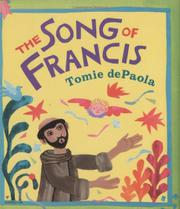 Book Cover for THE SONG OF FRANCIS