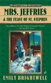 MRS. JEFFRIES AND THE FEAST OF ST. STEPHEN by Emily Brightwell