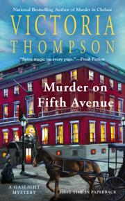 Book Cover for MURDER ON FIFTH AVENUE