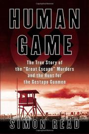 Book Cover for HUMAN GAME