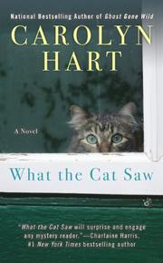 Cover art for WHAT THE CAT SAW
