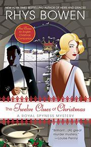 Cover art for THE TWELVE CLUES OF CHRISTMAS