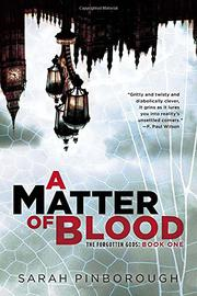 Book Cover for A MATTER OF BLOOD