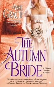 Book Cover for THE AUTUMN BRIDE
