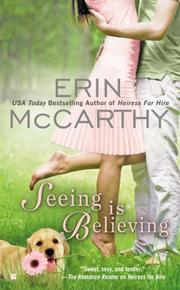 SEEING IS BELIEVING by Erin McCarthy