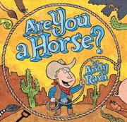 Cover art for ARE YOU A HORSE?