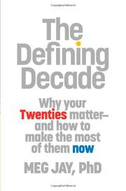 Book Cover for THE DEFINING DECADE