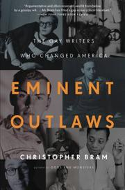 EMINENT OUTLAWS by Christopher Bram