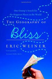 Cover art for THE GEOGRAPHY OF BLISS
