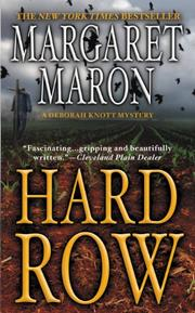 Book Cover for HARD ROW