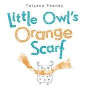 LITTLE OWL'S ORANGE SCARF by Tatyana Feeney