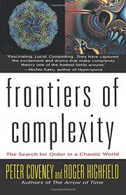 FRONTIERS OF COMPLEXITY by Peter Coveney