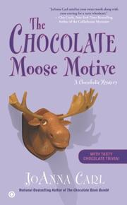 Cover art for THE CHOCOLATE MOOSE MOTIVE