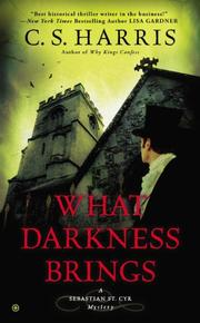 Cover art for WHAT DARKNESS BRINGS