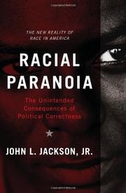 RACIAL PARANOIA by John L.  Jackson Jr.