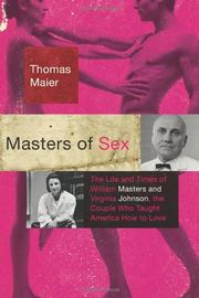 MASTERS OF SEX by Thomas Maier