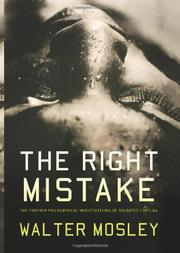 Cover art for THE RIGHT MISTAKE