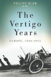 THE VERTIGO YEARS by Philipp Blom