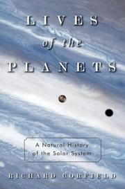 LIVES OF THE PLANETS by Richard Corfield