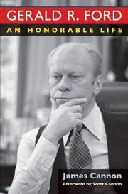 GERALD R. FORD by James Cannon