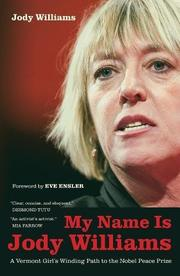 Book Cover for MY NAME IS JODY WILLIAMS
