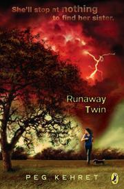 RUNAWAY TWIN by Peg Kehret