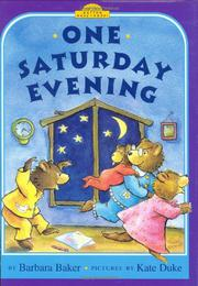 ONE SATURDAY EVENING by Barbara Baker