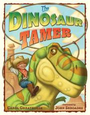 Cover art for THE DINOSAUR TAMER