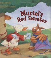 MURIEL'S RED SWEATER by Dara Sanders Dokas