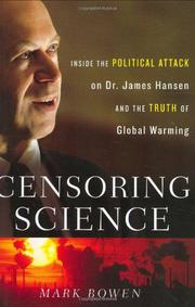 Cover art for CENSORING SCIENCE