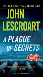 Cover art for A PLAGUE OF SECRETS