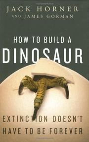 Cover art for HOW TO BUILD A DINOSAUR