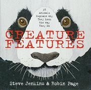 CREATURE FEATURES by Steve Jenkins