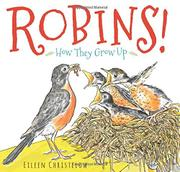 ROBINS! by Eileen Christelow