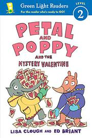PETAL AND POPPY AND THE MYSTERY VALENTINE by Lisa Clough