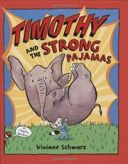 Book Cover for TIMOTHY AND THE STRONG PAJAMAS