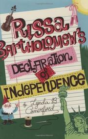 RISSA BARTHOLOMEW'S DECLARATION OF INDEPENDENCE  by Lynda B.  Comerford